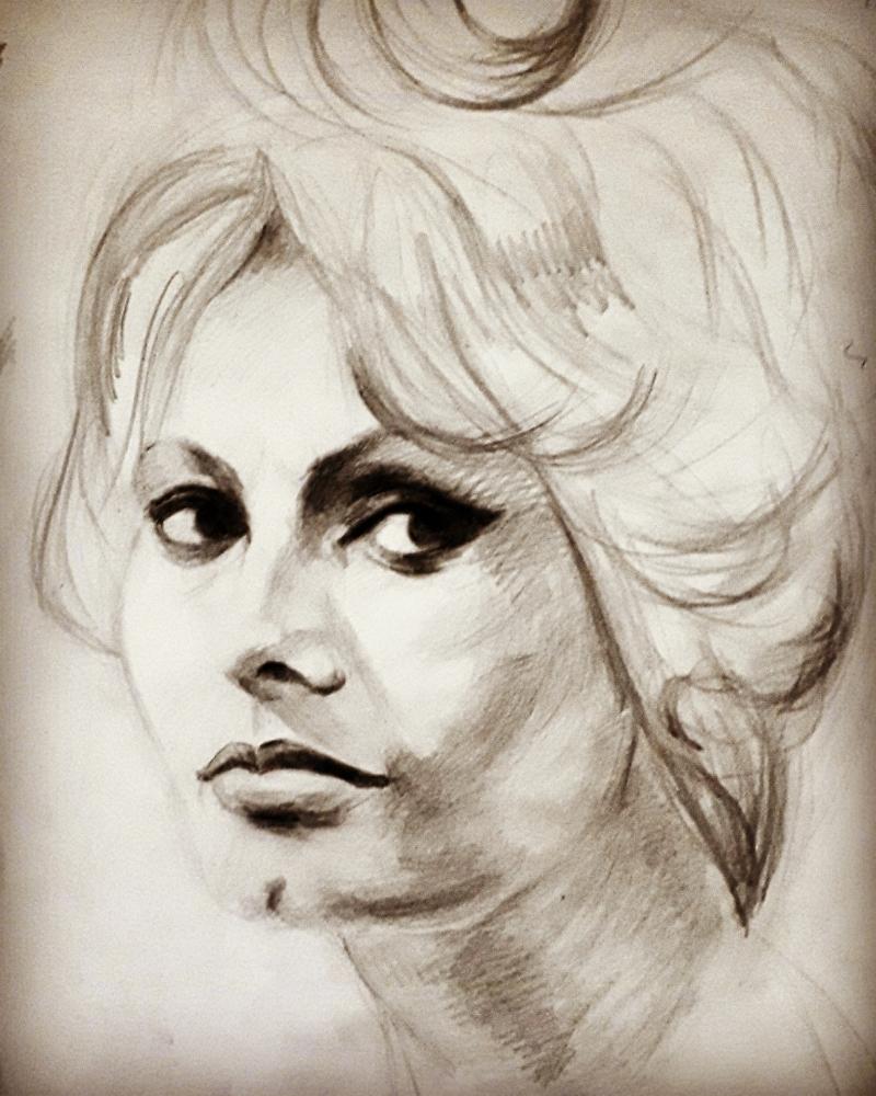 Sophia Loren par Nik
